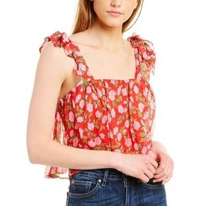 The Kooples Floral Cami Top